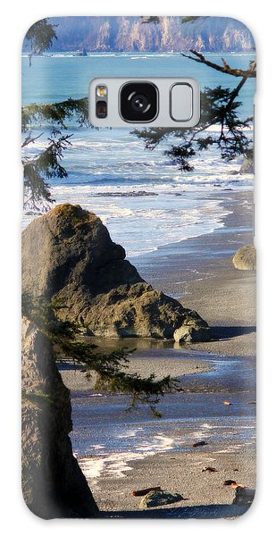 Ruby Beach Iv Galaxy Case by Jeanette C Landstrom