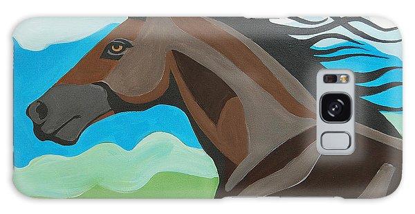 Running Horse Galaxy Case