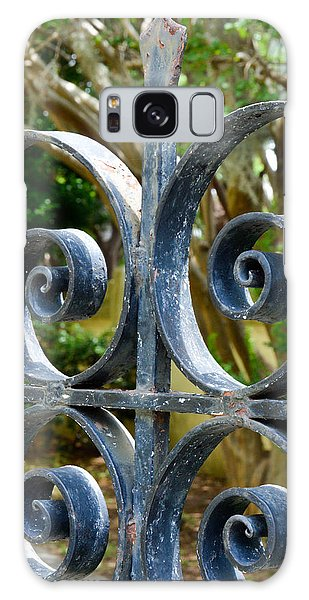 Rusted Charleston Ironwork Galaxy Case