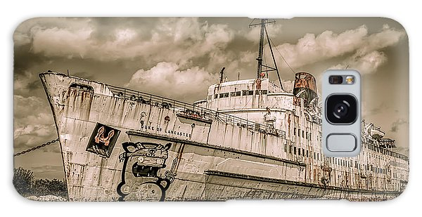 Swan Boats Galaxy Case - Rusty Duke by Adrian Evans
