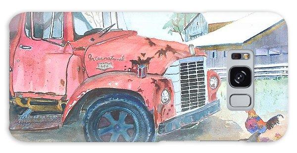 Rusty Truck Galaxy Case by Christine Lathrop