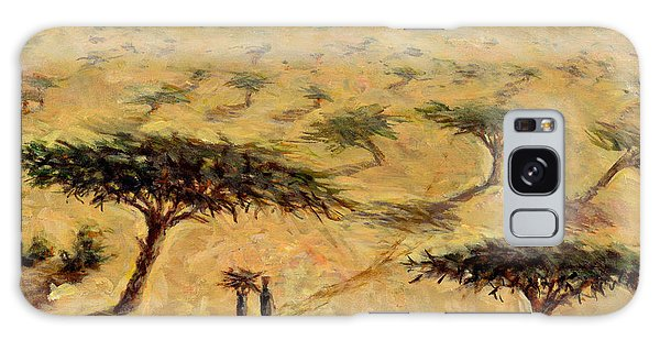 Nigeria Galaxy Case - Sahelian Landscape by Tilly Willis