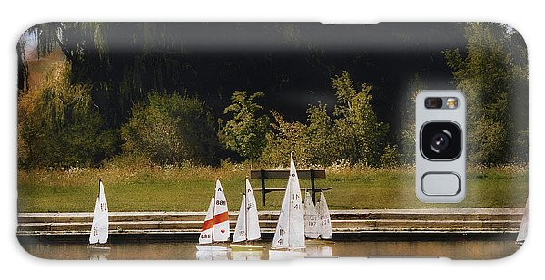 Sailboat Regatta Galaxy Case