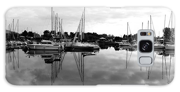 Sailboats At Bluffers Marina Toronto Galaxy Case
