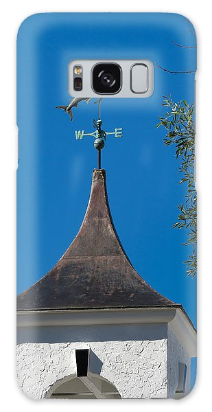 Sailfish Weather Vane At Palm Beach Shores Galaxy Case