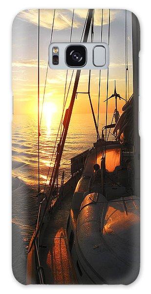 Sailing Galaxy Case by Anne Mott