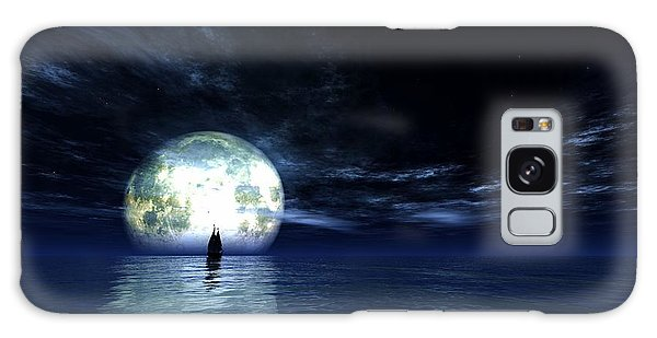Sailing At Night... Galaxy Case