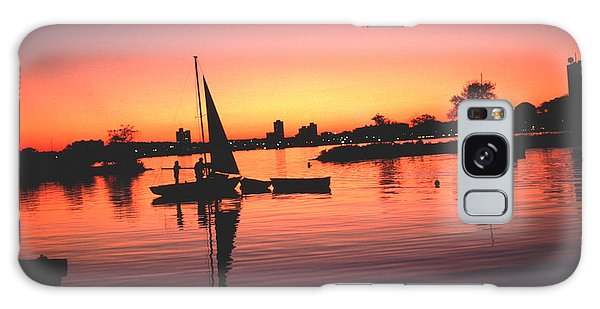 Sailing End Of The Day Backbay  Boston Galaxy Case