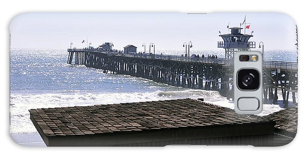 San Clemente Pier California Galaxy Case by Clayton Bruster