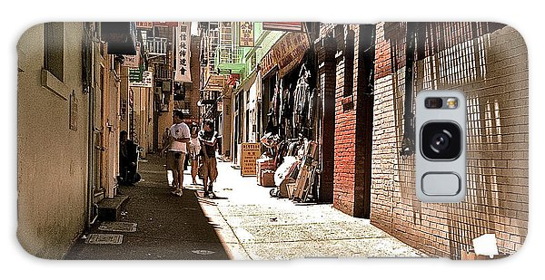 San Fran Chinatown Alley Galaxy Case by Bill Owen