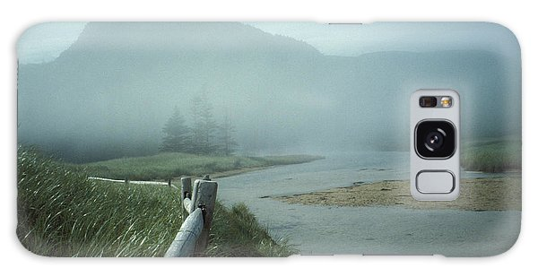 Sand Beach Fog Galaxy Case by Brent L Ander
