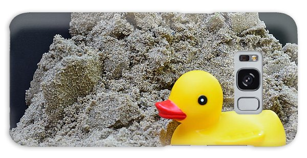 Sand Pile And Ducky Galaxy Case