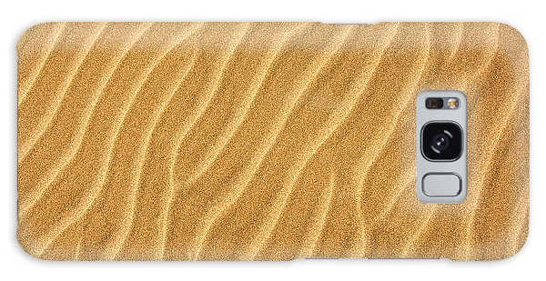 Sand Galaxy Case - Sand Ripples Abstract by Elena Elisseeva