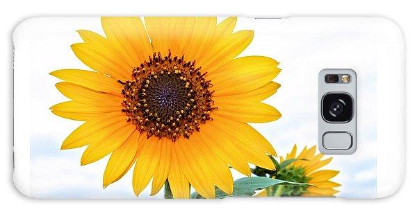 Sassy Sunflower Galaxy Case by Elizabeth Budd