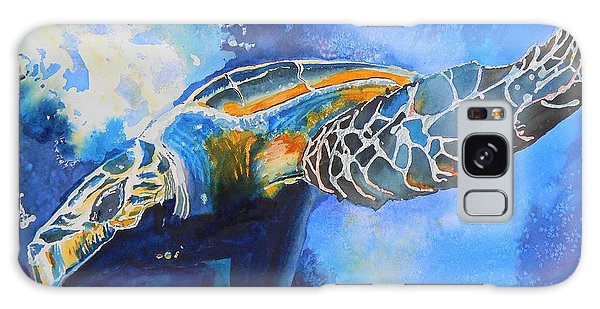 Save The Turtles Galaxy Case by Warren Thompson