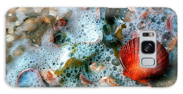 Scallop And Seaweed 11c Galaxy Case by Gerry Gantt