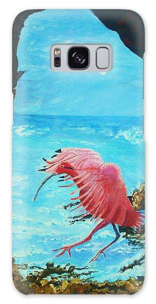 Scarlet Ibis Landing Galaxy Case