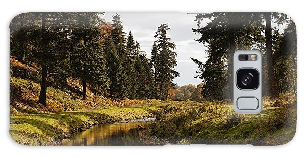 Scenic River, Northumberland, England Galaxy Case by John Short