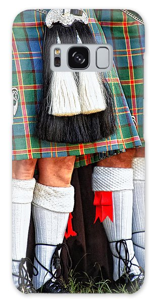 Scottish Festival 4 Galaxy Case by Dawn Eshelman