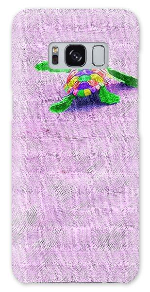 Sea Turtle Escape Galaxy Case