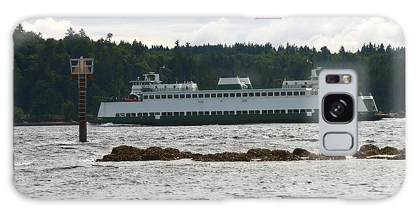 Sealth Ferryboat Rich Passage Galaxy Case by Kym Backland