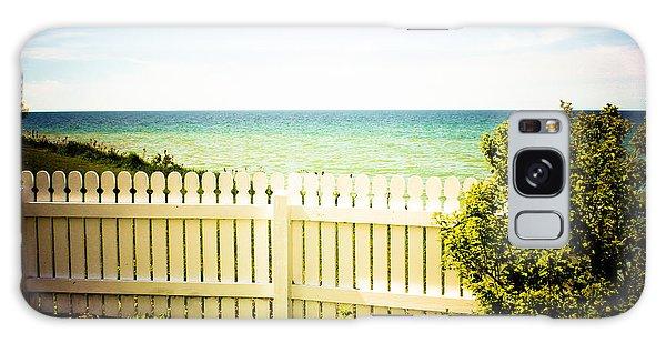 Seaside Retreat Galaxy Case by Sara Frank