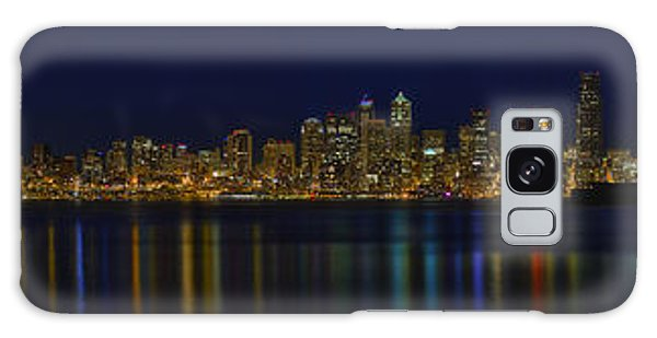 Seattle Moody Blues Galaxy Case by James Heckt