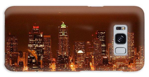 Seattle Skyline Galaxy Case