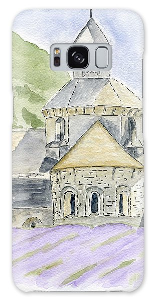Senanque Abbey Provence Galaxy Case