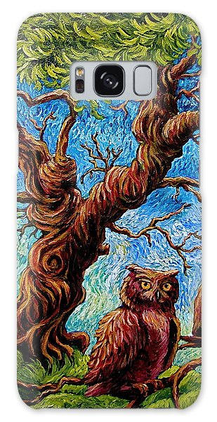 Sentient Owls Galaxy Case