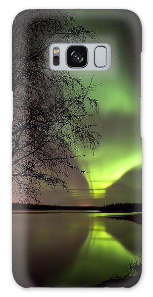 September Evening Galaxy Case