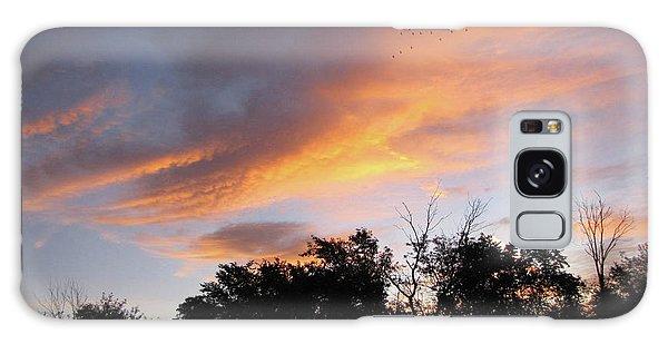 September Sunrise 1 Galaxy Case by Cedric Hampton