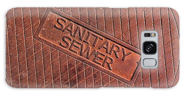 Sewer Cover Galaxy Case by Bill Owen