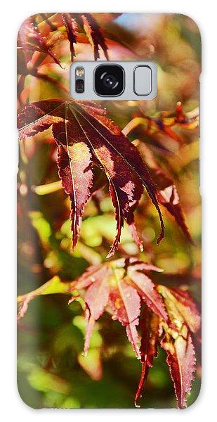 Shades Of Autumn Galaxy Case by Kerri Ligatich