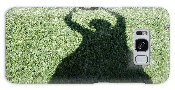 Shadow Playing Football Galaxy Case