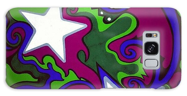 Colorful Galaxy Case - #sharpie Art #sharpiesquad2012 by Mandy Shupp