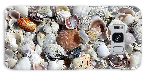 Shells On The Beach Galaxy Case