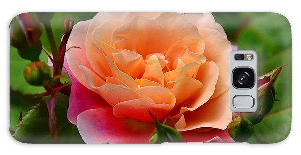 Sherbet Rose Galaxy Case by Bonnie Myszka