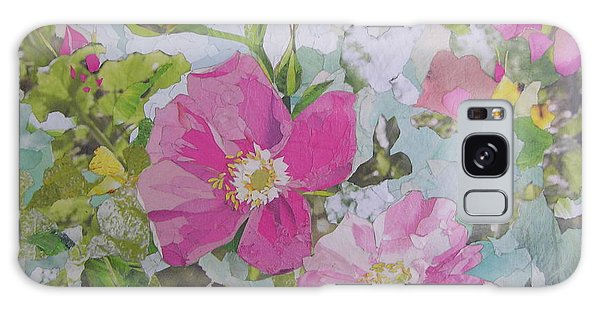 Shrub Roses Galaxy Case by Robin Birrell
