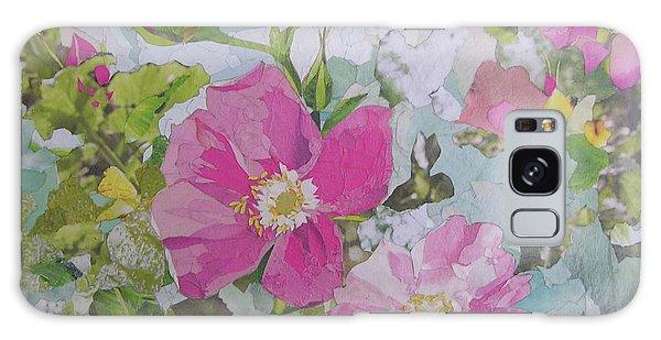 Shrub Roses Galaxy Case by Robin Birrell