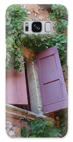 Shutters And Grapevines Galaxy Case