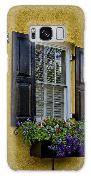 Shutters And Window Boxes Galaxy Case