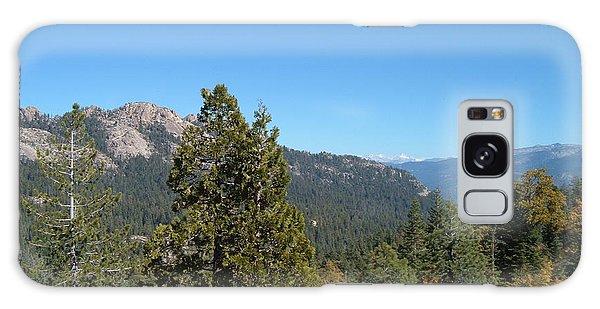 View Galaxy Case - Sierra Nevada Mountains 2 by Naxart Studio