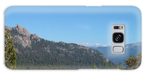 View Galaxy Case - Sierra Nevada Mountains 3 by Naxart Studio