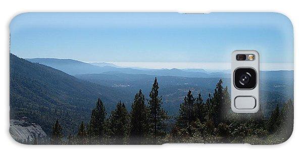 View Galaxy Case - Sierra Nevada Mountains by Naxart Studio