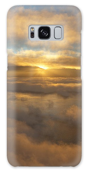 Silver Lake Sunrise Galaxy Case