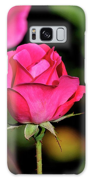 Simple Red Rose Galaxy Case