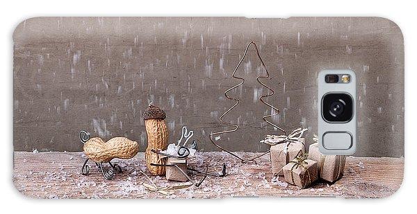 Wrap Galaxy Case - Simple Things - Christmas 07 by Nailia Schwarz