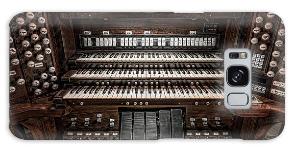 Skinner Pipe Organ Galaxy Case by Clarence Holmes