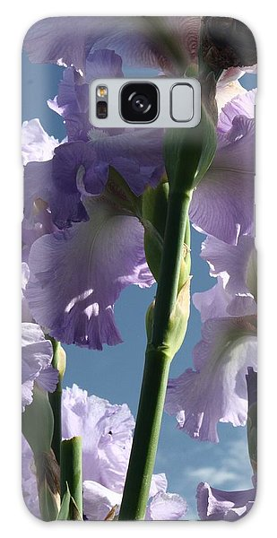 Sky And Flowers Galaxy Case
